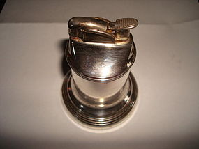 VINTAGE EVANS STERLING SILVER TABLE CIGARETTE LIGHTER