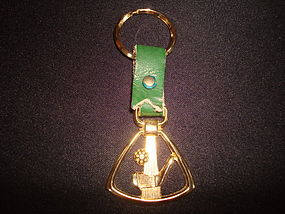 VINTAGE GOLF/GOLFER KEY CHAIN