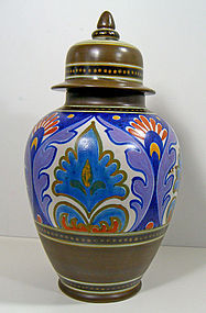 Gouda Art Deco Ginger Jar - 1930 - Holland