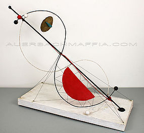 Wolfgang Roth Modernist Abstract Sculpture