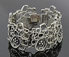 Vidal Modernist Bracelet Pewter/Silver Canada