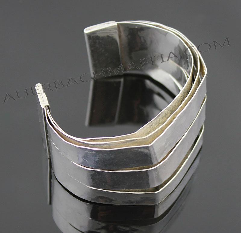 John Lewis Modernist Sterling Layered Bracelet Boston