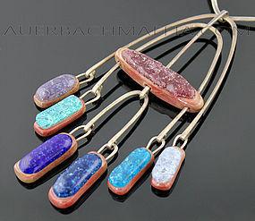 Elsa Freund Modernist Kinetic Necklace American