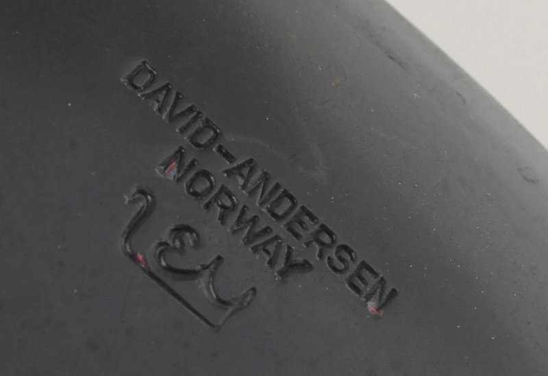 David Andersen Modernist Abstract Enamel Plate - Norway