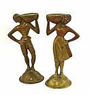 A.G.BUNGE Deco Bronze Figures Germany 1930