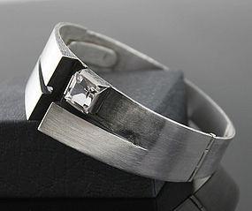 KJP Nordform Modernist Sterling Bracelet Finland