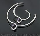 Art Smith Modernist Sterling Necklace and Bracelet