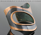 Art Smith Modernist Copper Cuff Bracelet 1950