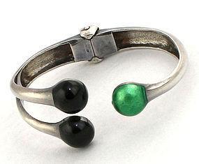 Italian Modernist Sterling Bracelet Italy