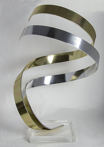 Dan Murphy Lucite and Aluminum Sculpture