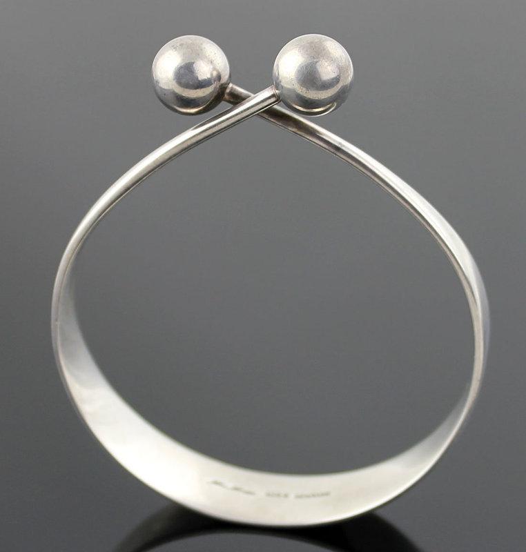 Hans Hansen Modernist Sterling Bracelet Denmark