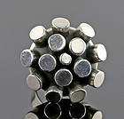 Sterling Silver Modernist Organic Form Ring - Mid 20th Century