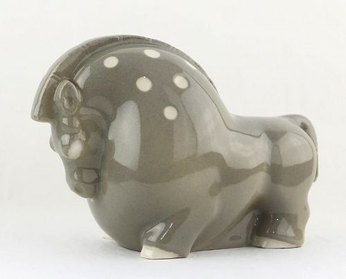 Ray Barger Modernist Ceramic Horse - Bucks County, PA 1930's