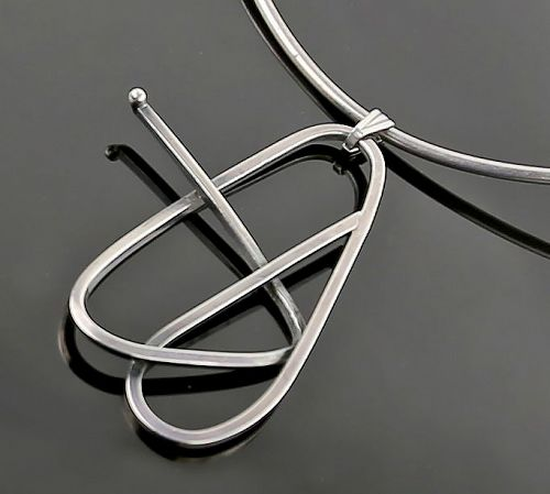 Janiye Modernist Sterling Necklace Boston