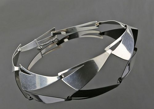 Tamiko Kawata Ferguson Sterling Silver Necklaceâ�