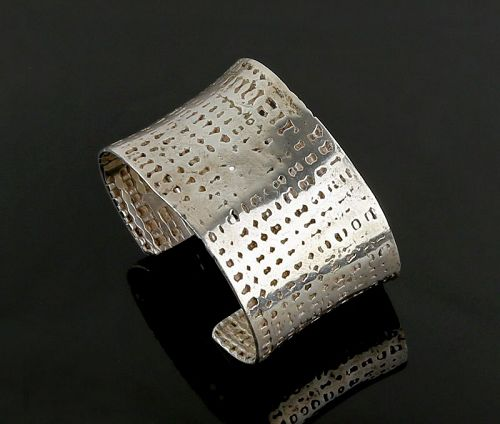 Hans Appenzeller Modernist Sterling Bracelet - The Netherlands
