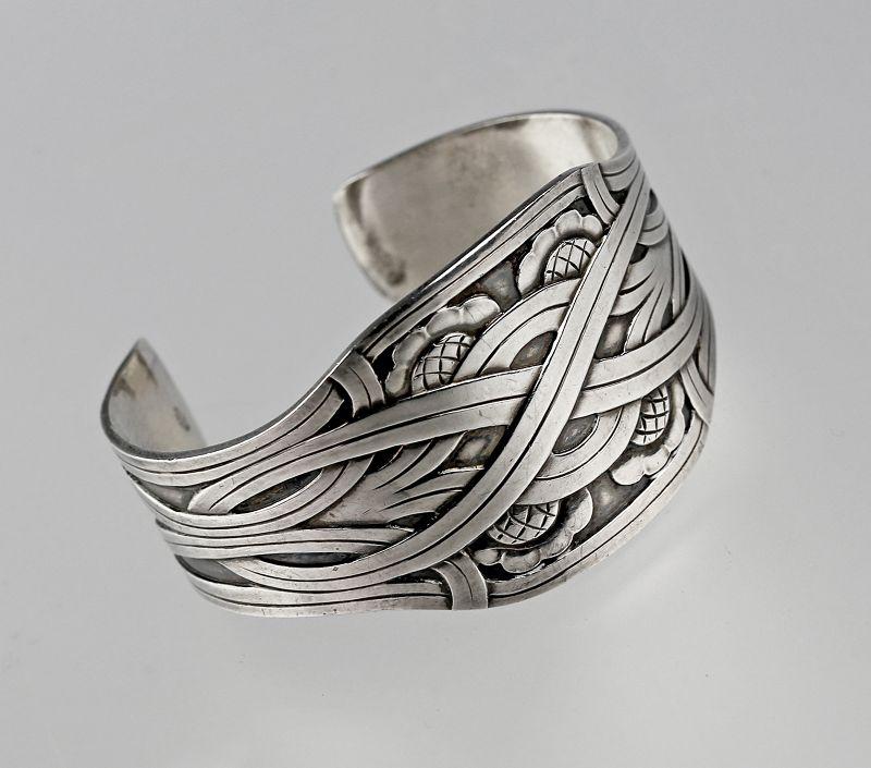 "Georg Jensen Sterling ""Celtic"" Bracelet  by Harald Nielsen"