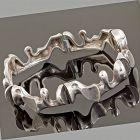 Lapponia Sterling Silver Modernist Bracelet Finland 1970s