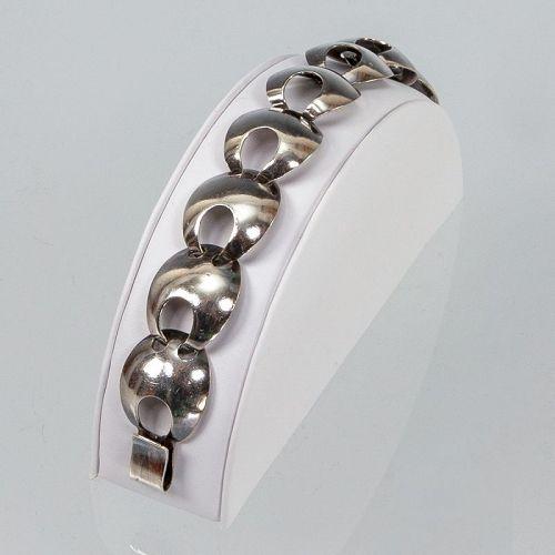 Jens Poul Asby Modernist Sterling Danish Bracelet