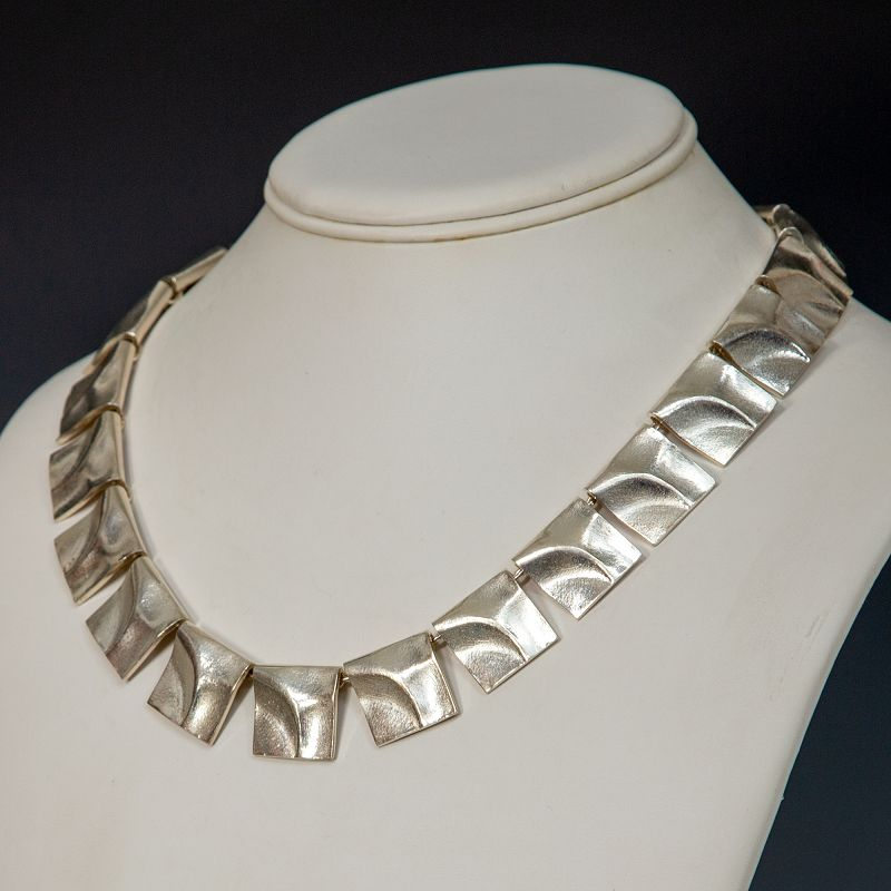 Lapponia by Weckstrom Galactic Peaks Necklace Space Series 1972