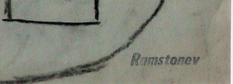 RAMSTONEV - New Hope Modernist Drawing