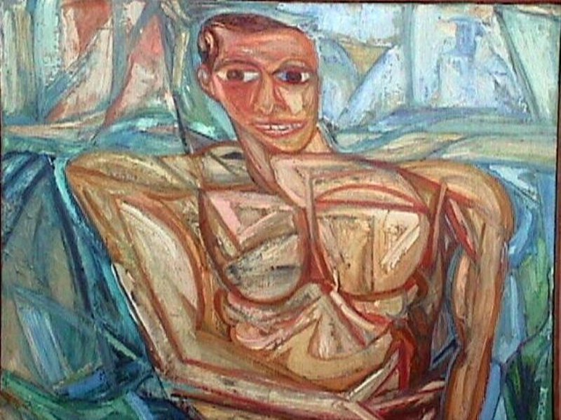 James House Abstract Figure Modernist PAFA