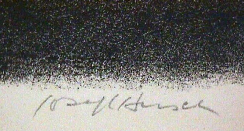 Joseph Hirsch Etching WPA Deco Modernist Listed