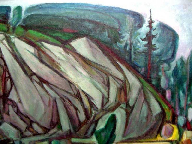 G.Ralph Smith - Modernist  - PAFA - Landscape