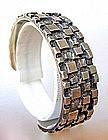 Scandinavian Modernist Jewelry O.B. Petersen Bracelet