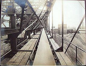 Early Modernist Industrial Machine Age Photograph 1900
