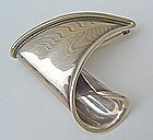 George Salo American Modernist Jewelry Sterling Brooch