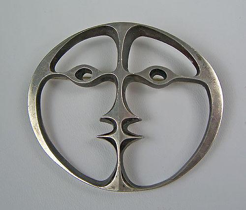 John Prip Modernist Sterling Silver Brooch
