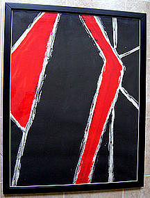 Lloyd Ray Ney - New Hope, Pa. Modernist Abstract