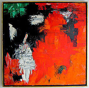 Silvia Leiferman Abstract Expressionist 1960's