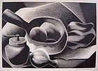 Paul Landacre Modernist Engraving 1954