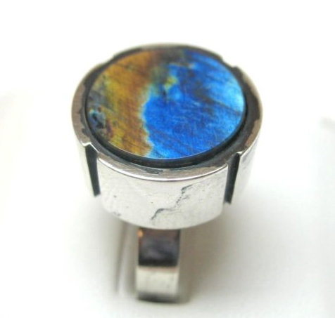 Modernist Jewelry Kaunis Koru Sterling Ring - Finland