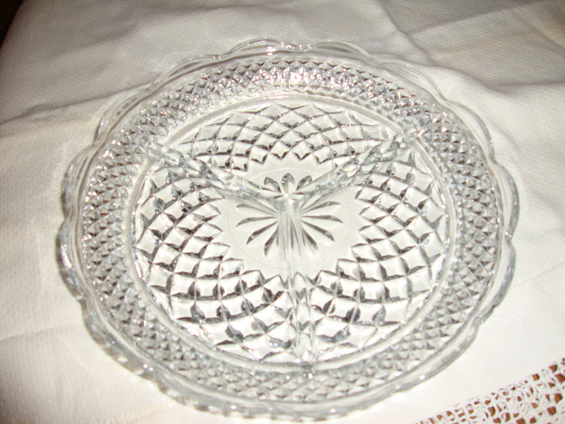Wexford 3-section Relish Dish