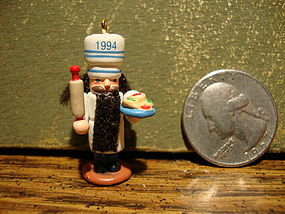 Hallmark Nutcracker Guild Mini Baker 1994