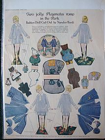 McCall's Paper Dolls in the Park by Nandor Honti