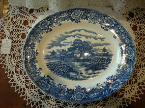 English Village Serving Platter by Salem China Co.