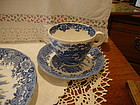 English Village Cup and Saucer by Salem