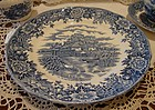 English Village dinner plate by Salem China