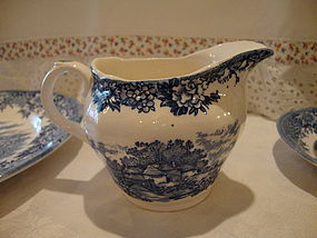 English Village Creamer by Salem China