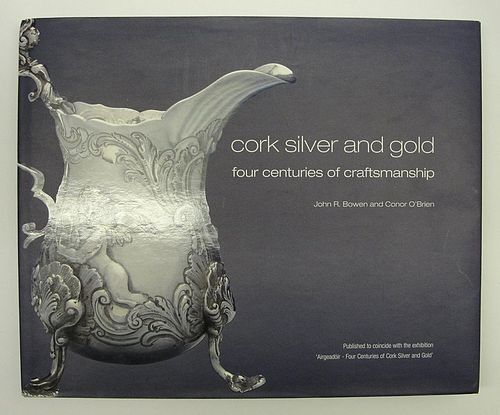 Important Out of Print Seminal Reference on Irish Provincial Silver