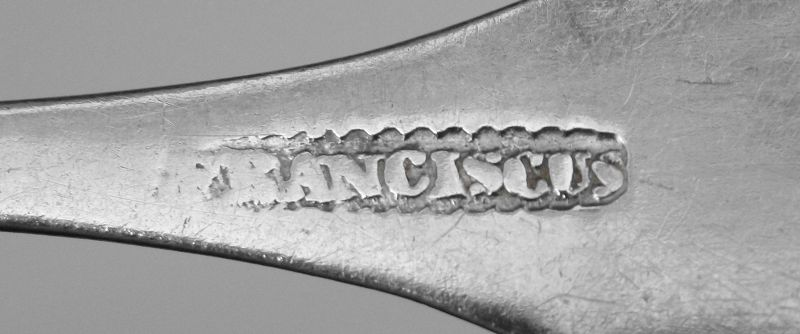 Lancaster, Pennsylvania Coin Silver Spoon, George Franciscus c.1819-40