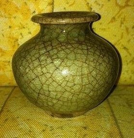 Sung Jarlet crackle glaze