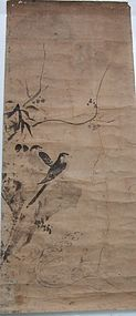 Antique Anonymous Chinese painting of birds