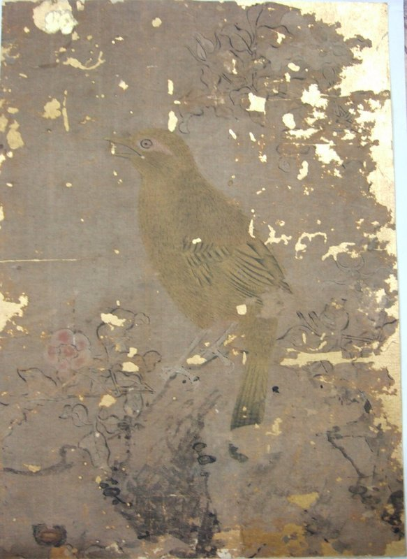 Classical antique chinese painting of Flower & bird