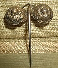 Qing Dynasty gilt silver hairpin