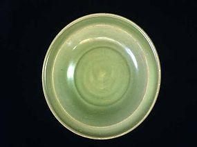Southern Song Dynasty Longquan kiln celadon plate
